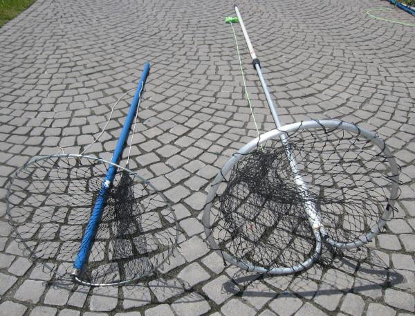 Diy how to make a lobstering bully net for How to make a fishing net