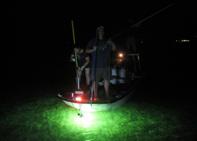 diy - how to add bully netting lights to a boat, Reel Combo